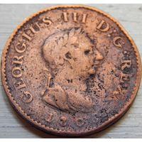 4.Англия 1 фартинг 1806 год. Георг-3