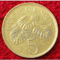 7523:  5 центов 1988 Смнгапур