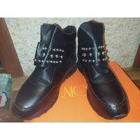 Новые зимние ботинки, размер 40
