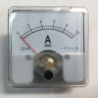 Амперметр 10А. 60 х 60мм. Измерительная головка (10 А, 10a a ампер) CZ-60