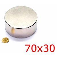 Неодимовый магнит N45,размер 70*30