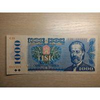 Чехословакия. 1000 крон 1985 год.
