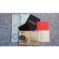Комплект документов на одного офицера (1944-1974 гг.)