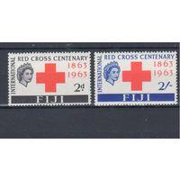 [629] Фиджи 1963.Красный Крест.