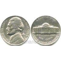 США 5 центов 1964 D
