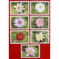 Камбоджа. Флора. ( 7 марок ) 1989 года.