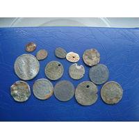 """Коллекция монет """"Мордовок"""". Редкость. Единственные на аукционе."""