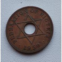 Нигерия 1 пенни, 1959 7-11-9
