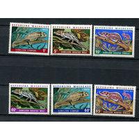 Мадагаскар (Малагаси) - 1973 - Хамелеоны - [Mi. 683-688] - полная серия - 6 марок. MNH.