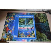 Пазл мозаика puzzle 1000 элементов. Природа, животные, рыбы, океан
