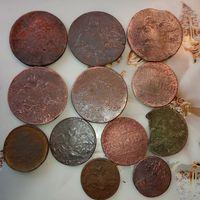 Николай 1  ( массоны ) монеты 12 шт.