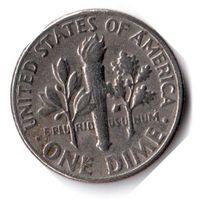 США. 1 дайм (10 центов). 1980 D