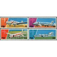 1976 Фиджи 354-357 Самолеты 6,00евро