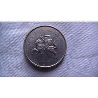 Литва 1 лит 2001г. распродажа