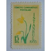 Турция 1955г. Флора.