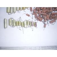 Резисторы  с 2-29 в 1, около 40 шт. и железные 19 шт.В основном до Ома.