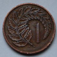 Новая Зеландия, 1 цент 1967 г