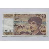 Франция, 20 франков 1992 год