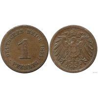 YS: Германия, Рейх, 1 пфенниг 1895A, KM# 10 (2)