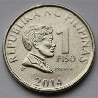Филиппины 1 писо, 2014 г. (Магнитная).