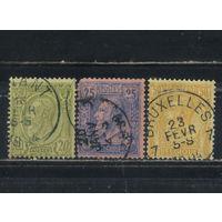 Бельгия Кор 1884 Леопольд II Стандарт #43-5