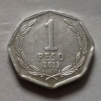 1 песо, Чили 2013 г.