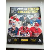 Альбом наклеек НХЛ Хоккей 2015/16