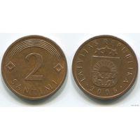 Латвия. 2 сантима (2006)