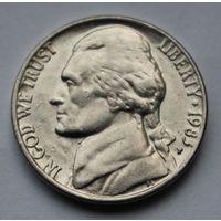 США, 5 центов 1983 г. P