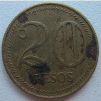 Колумбия 20 песо 2006 г. (d)