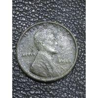 Старинная Американская монета. Абрам Линкольн