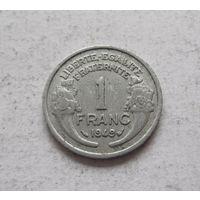 Франция 1 франк 1949 Четвертая Республика