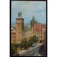 1975 год Чехословакия Прага Вид старой Праги
