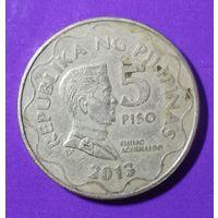 5 песо 1993 г Филлипины