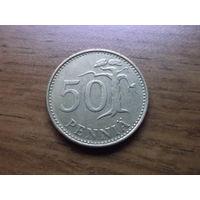 Финляндия 50 пенни 1981