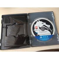 Стилбук с игрой МКХ на PS 4
