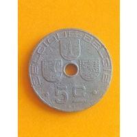Бельгия 5 сантимов 1943 Que