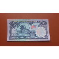 Банкнота 2 тала Самоа 1985 г.
