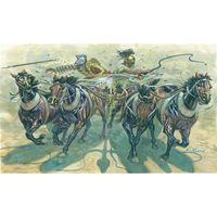 Гладиаторы 1/32, Колесница (квадрига) 6874 Italeri