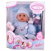 Кукла  Baby ANNABELL(46см,мальчик) с мимикой , пр-ль Zapf Creation(Германия) с музыкальной овечкой(кукла оригинал, в оригинальной упаковке)