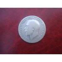 6 пенсов 1916 года Британия Георг V (серебро)