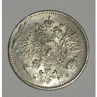 Русс. Финляндия 25 Пенни 1916 Серебро (107)