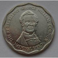 Ямайка 10 долларов, 2012 г. (Форма-круг).
