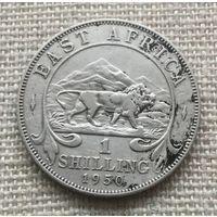 Восточная Африка, 1 шиллинг 1950