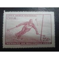 Чили 1966 слалом