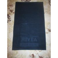 Полотенце новое синее Nivea