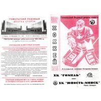 Хоккей. Программа. Гомель - Юность (Минск). 2005.