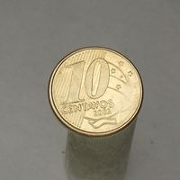 Бразилия 10 центавос 2002