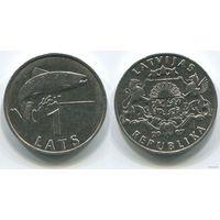Латвия. 1 лат (2007)