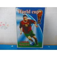 Карты игральные. Чемпионат мира по футболу. 2006 год.